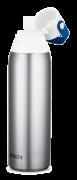 Brita® Premium Filtering Bottle in Stainless steel – Silver