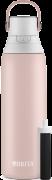 Système de filtration d'eau en bouteille en acier inoxydable de Brita® – rose